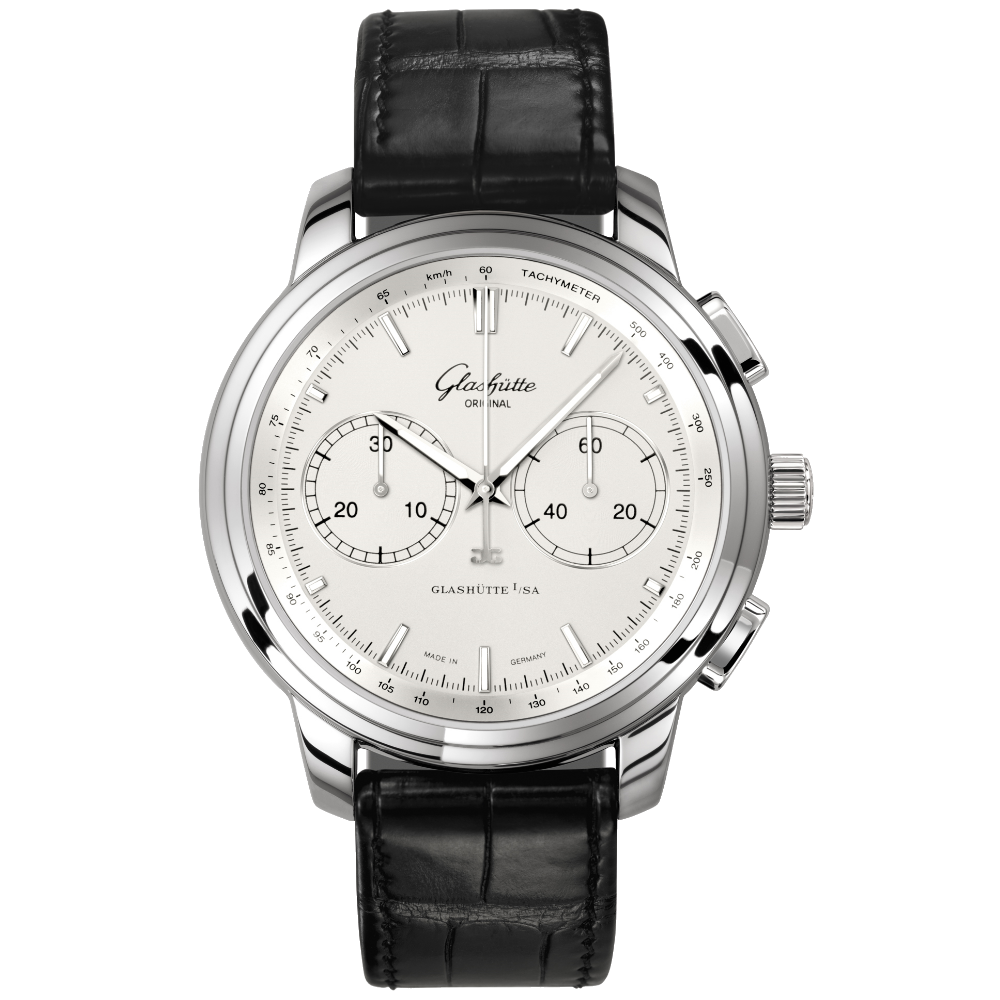 Glashütte Original Senator Chronograph XL / 1-39-34-21-42-04
