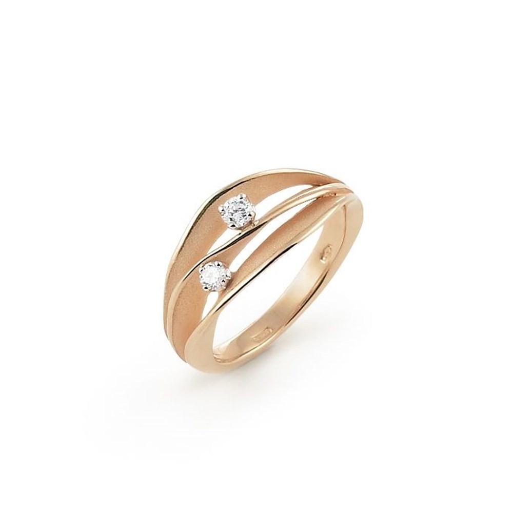 Annamaria Cammilli Essential DUNE Ring - GAN1941J - Aprico Orange Gold 750/-