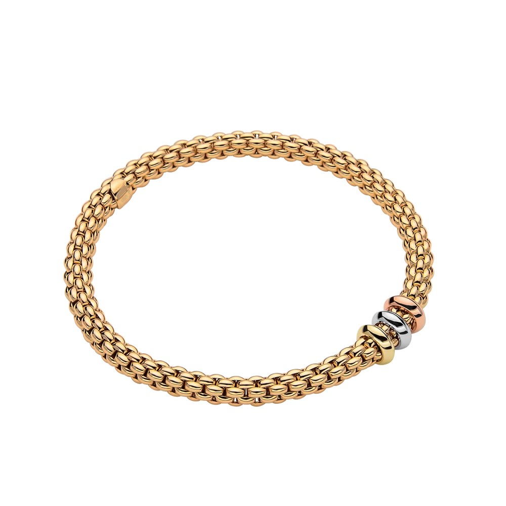 Fope Armband - SOLO Collection - 653BM - Gelbgold 750/- Länge M
