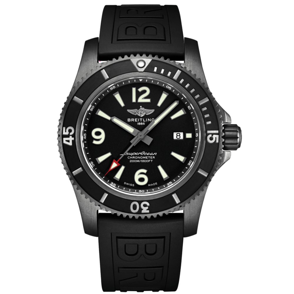 Breitling Superocean Automatic 46 Blacksteel / M17368B71B1S1