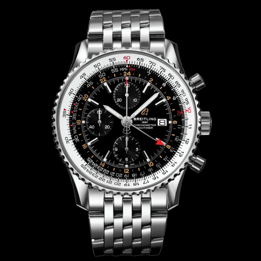 Breitling Navitimer Chronograph GMT 46 / A24322121B1A1