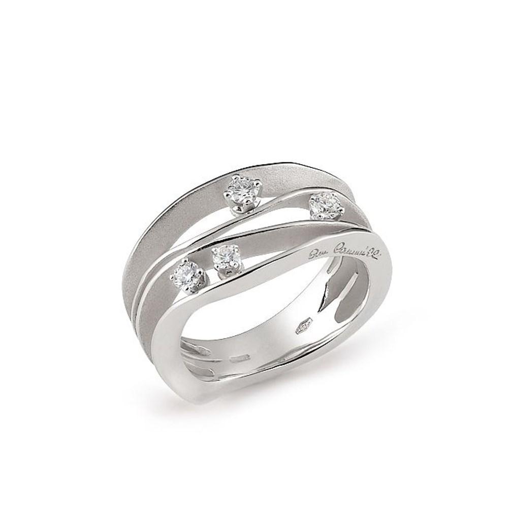 Annamaria Cammilli Essential DUNE Ring - GAN0778W - Ice White Gold 750/-