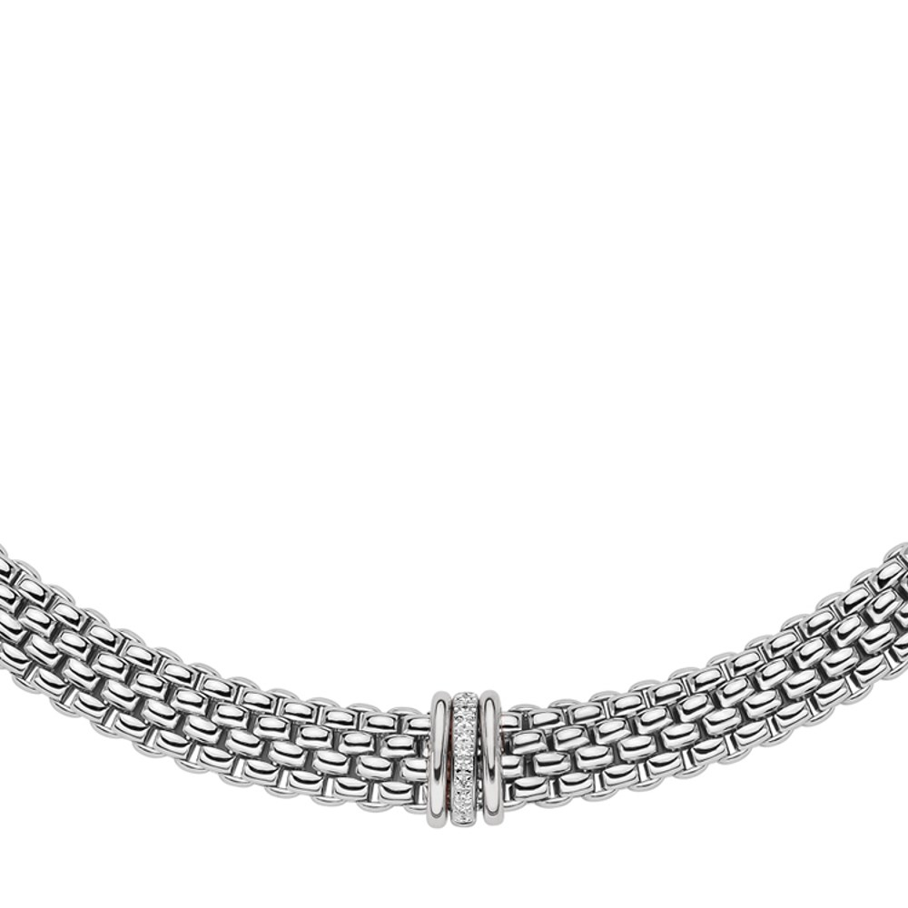 Fope Collier - PANORAMA Collection - 587C BBR BB - Weissgold 750/-