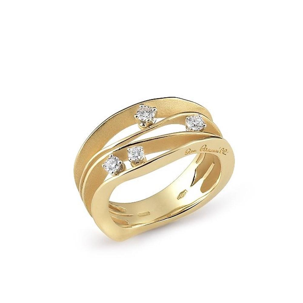 Annamaria Cammilli Essential DUNE Ring - GAN0778U - Sunrice Yellow Gold 750/-