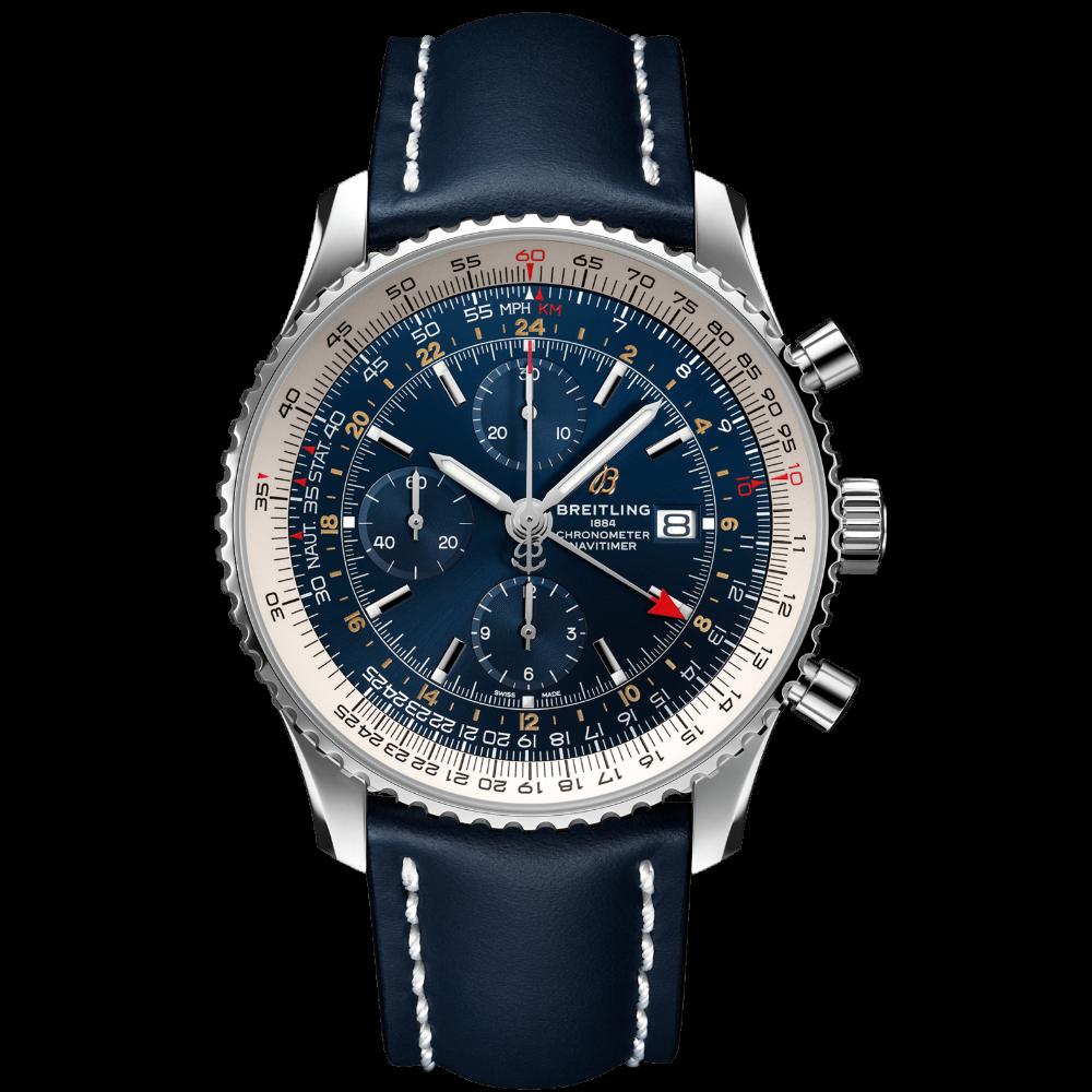 Breitling Navitimer Chronograph GMT 46 / A24322121C2X2