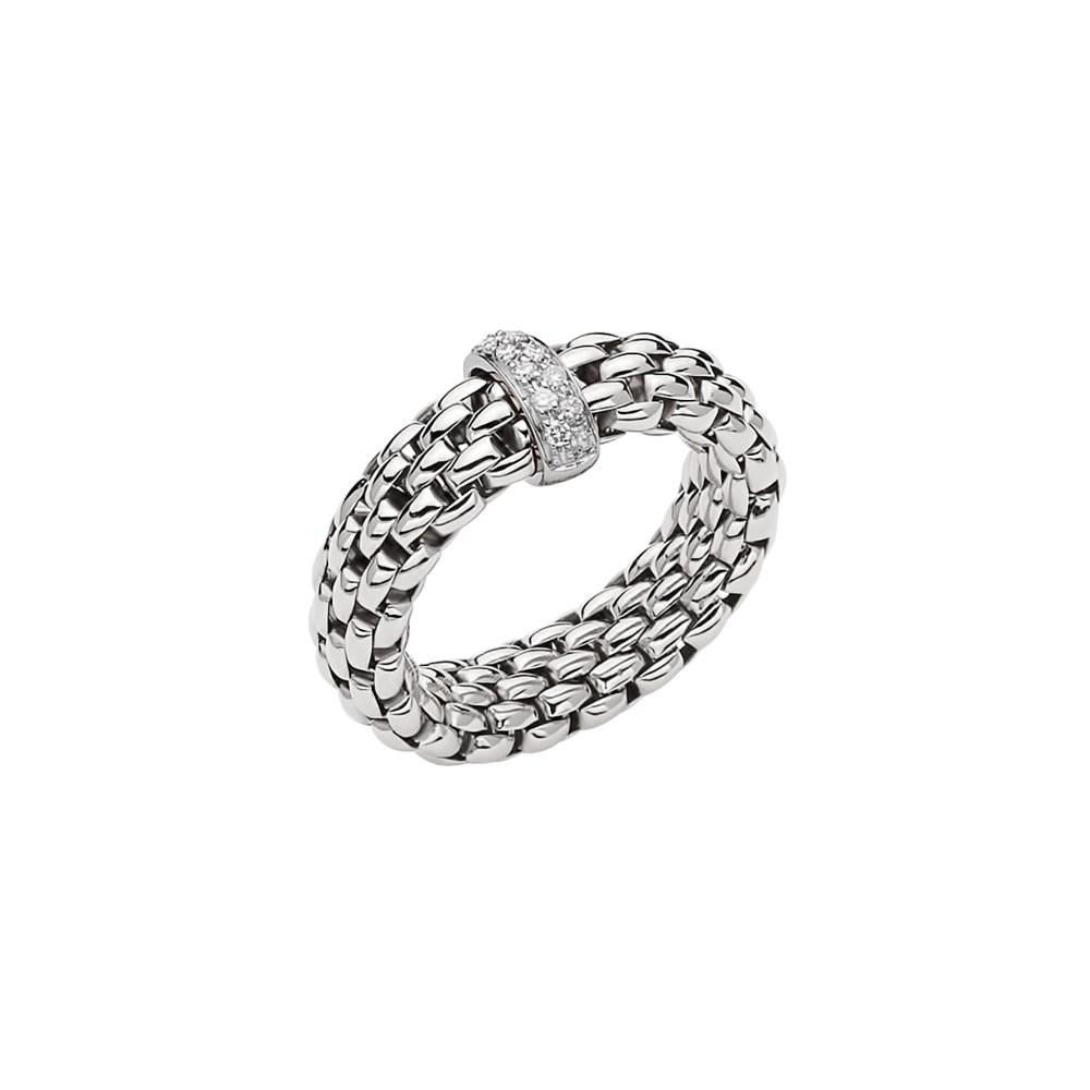 Fope Flex'it Ring - VENDÔME Collection - AN559 BBR B - Weissgold 750/- Weite L