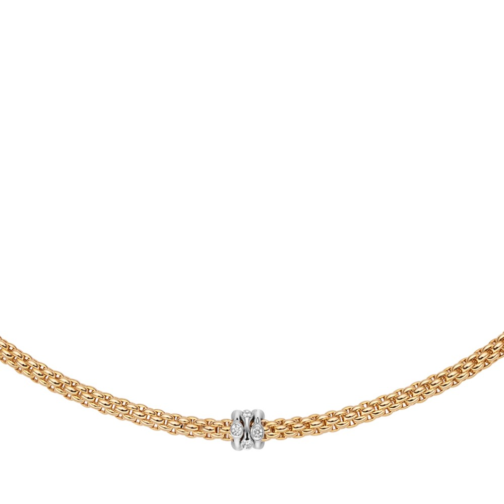 Fope Collier - PRIMA Collection - 743C BBR GB - Gelbgold 750/-