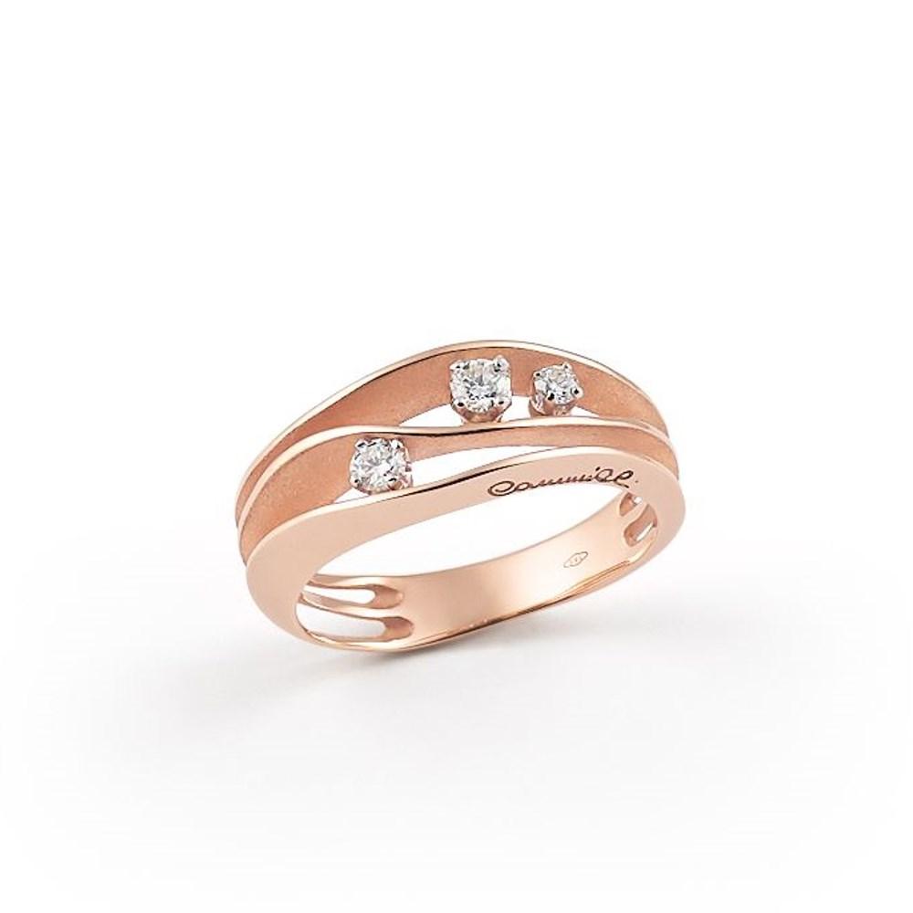 Annamaria Cammilli Essential DUNE Ring - GAN2662P - Pink Champagne Gold 750/-