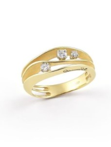 Annamaria Cammilli Essential DUNE Ring – GAN2662U – Sunrice Yellow Gold 750/-