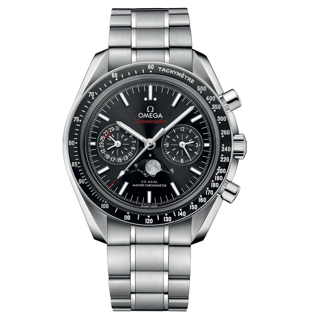 OMEGA Speedmaster Mondphase Co-Axial Master Chronometer Chronograph 44,25mm 304.30.44.52.01.001