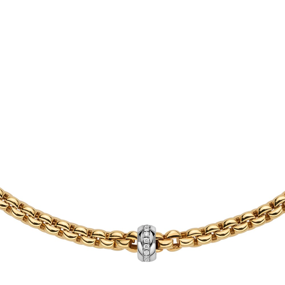Fope Collier - EKA Collection - 721C BBR GB - Gelbgold 750/-