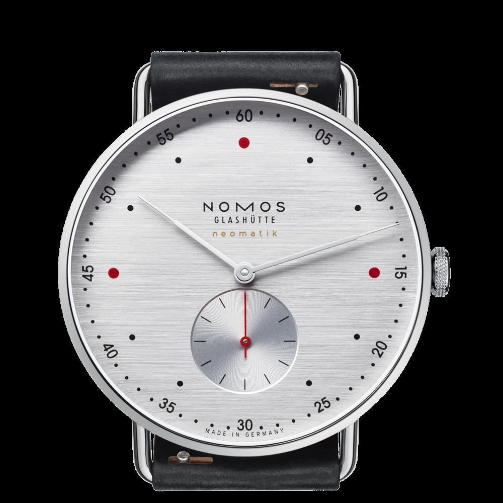 NOMOS - Metro neomatik 39 silvercut - Ref. 1114