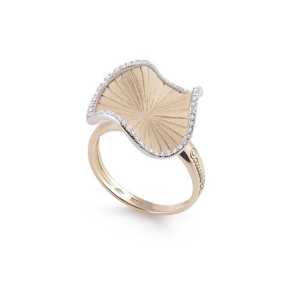 Annamaria Cammilli Vision SULTANA Ring - GAN2356N - Natural Beige Gold 750/-