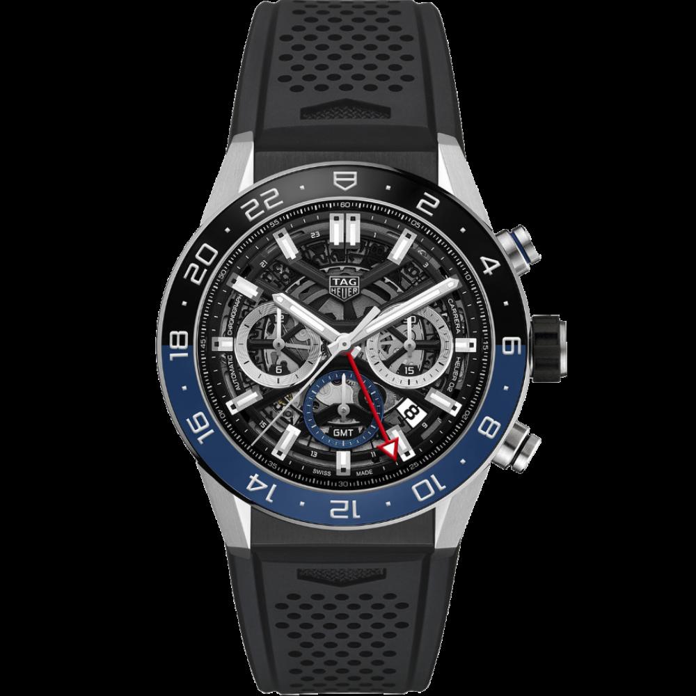 TAG Heuer Carrera Chronograph Calibre Heuer 02 GMT CBG2A1Z.FT6157