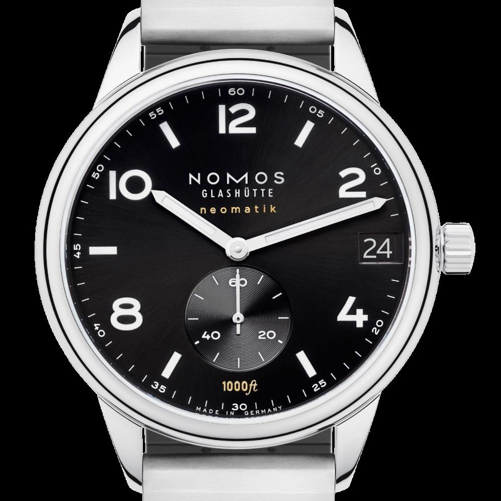 NOMOS - Club Sport neomatik 42 Datum schwarz - Ref. 781