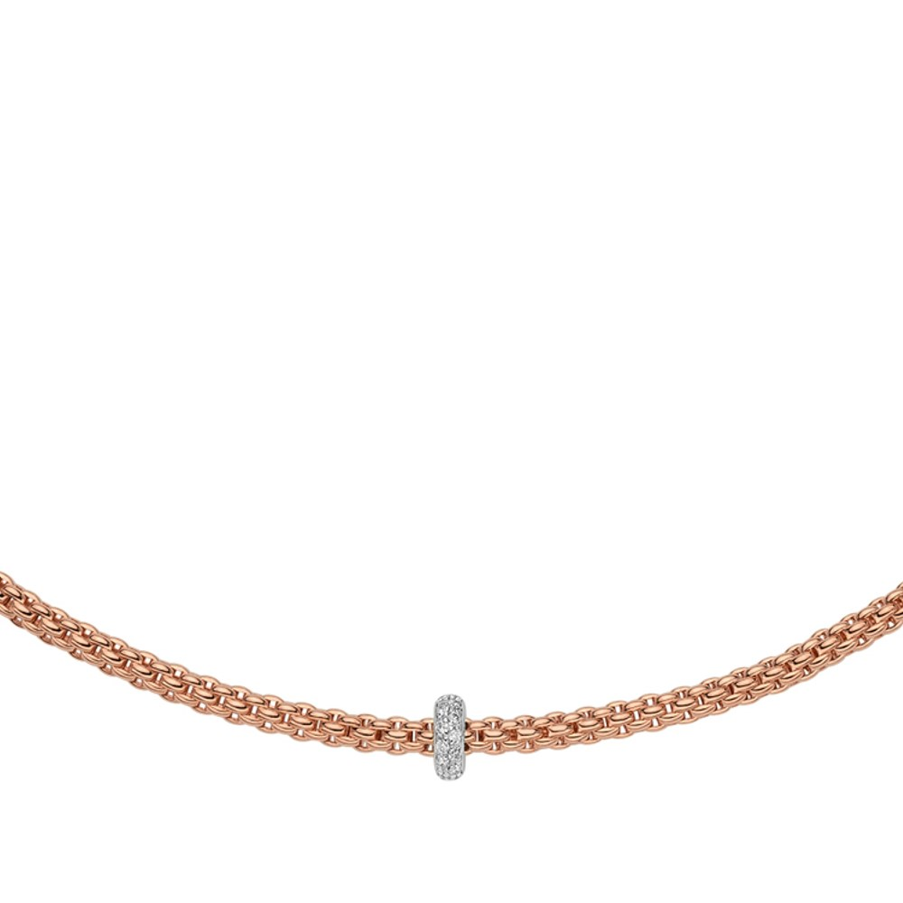 Fope Collier - PRIMA Collection - 745C BBR BR - Roségold 750/-