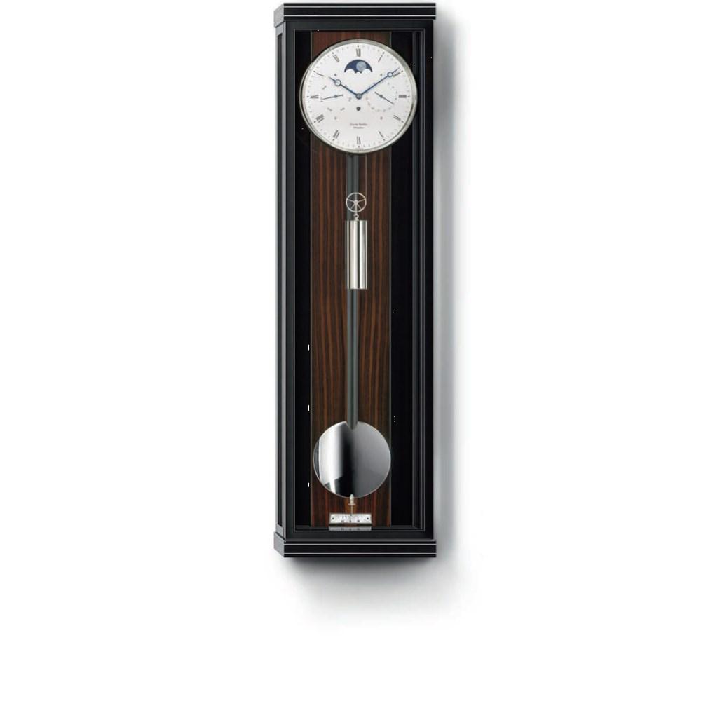 Erwin Sattler Classica K 100 M - schwarzer Schleiflack mit Makassar-Kassette und Metallintarsien