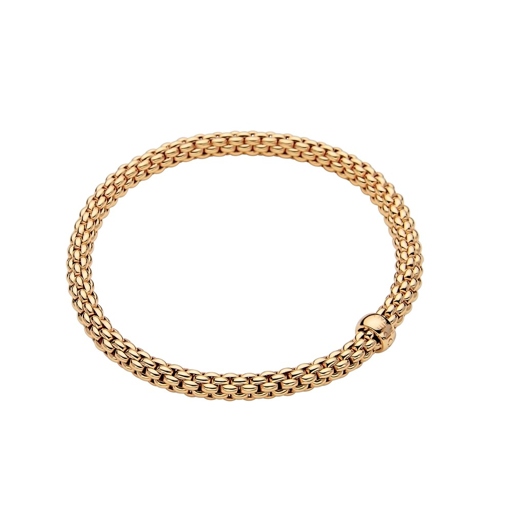 Fope Armband - SOLO Collection - 620B - Gelbgold 750/- Länge M