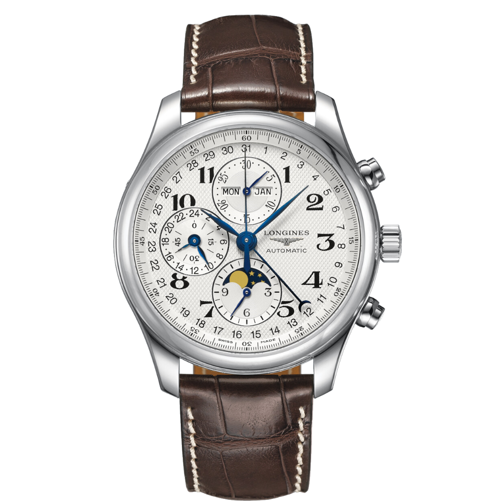The Longines Master Collection Chronograph Mondphase L2.773.4.78.3