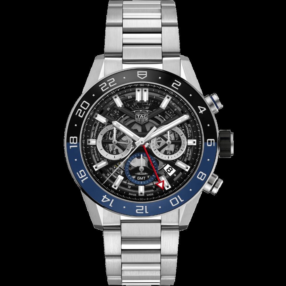 TAG Heuer Carrera Chronograph Calibre Heuer 02 GMT CBG2A1Z.BA0658