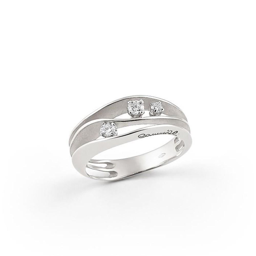 Annamaria Cammilli Essential DUNE Ring - GAN2662W - Ice White Gold 750/-