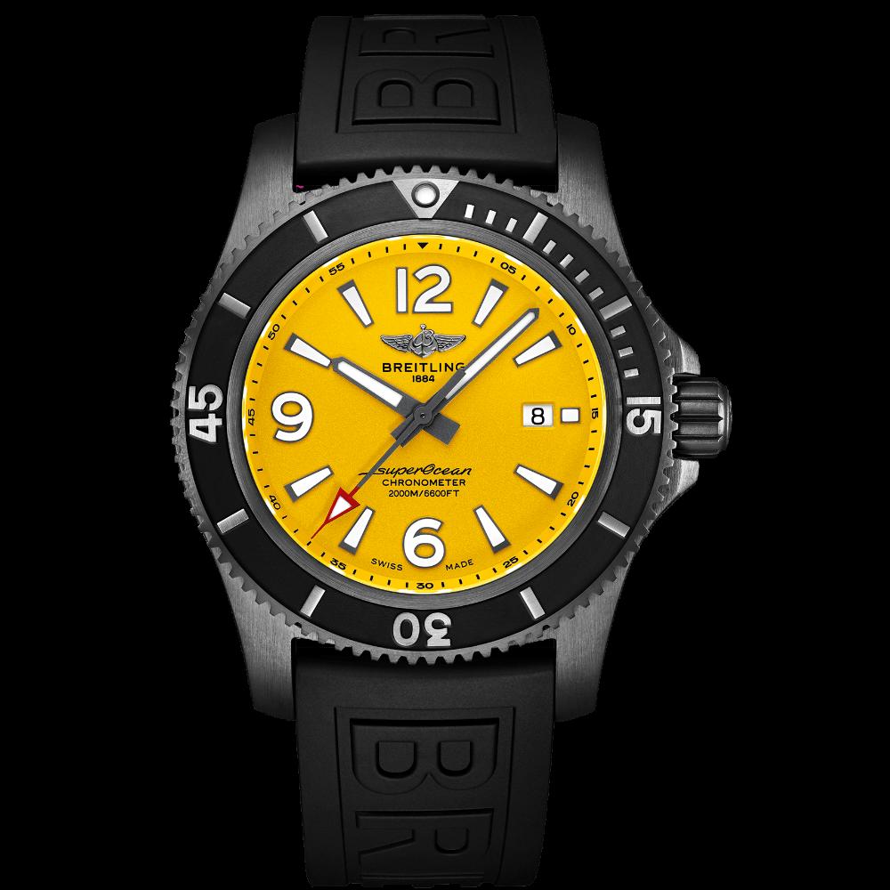 Breitling Superocean Automatic 46 Blacksteel / M17368D71I1S1