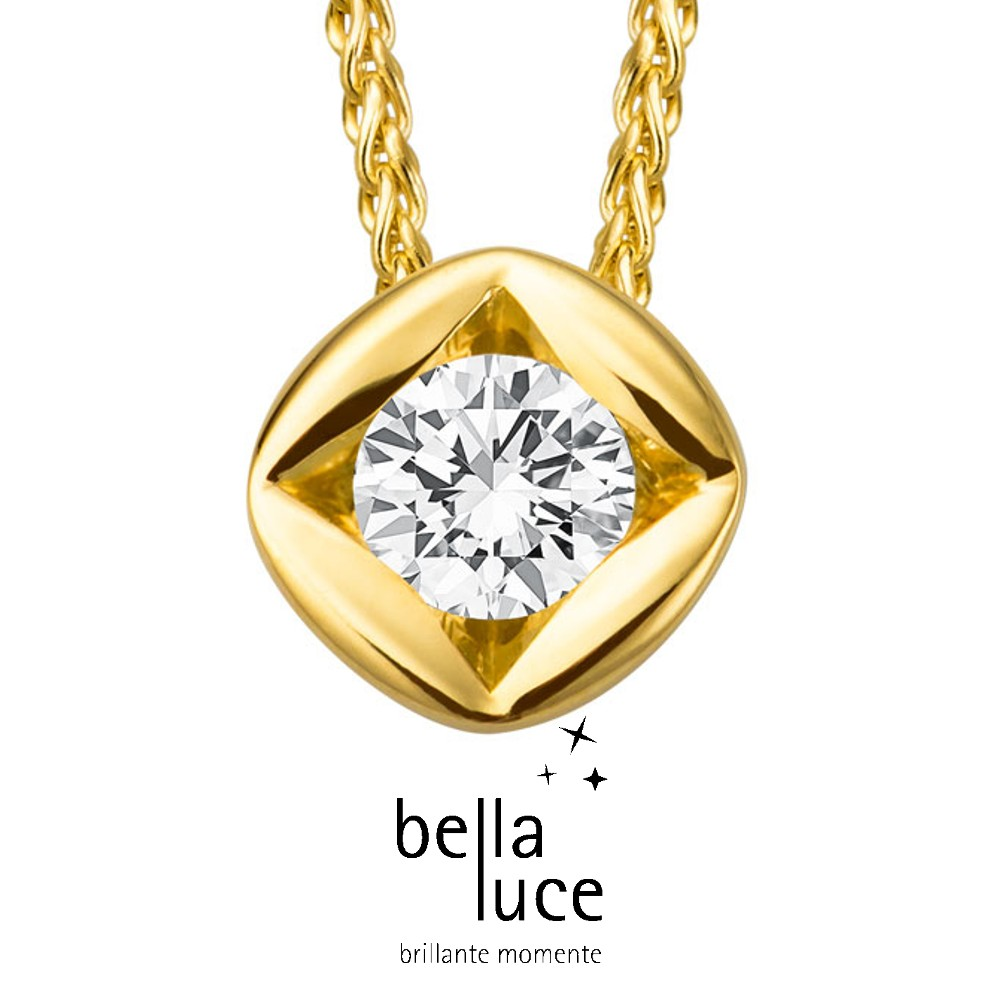 bellaluce Solitaire Collier Gelbgold 585/- 1,00ct / EH000700