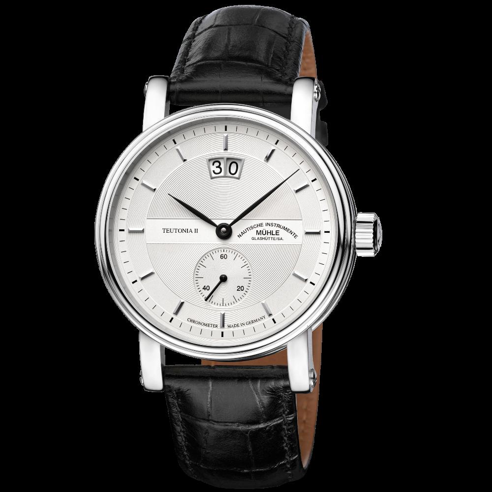 Mühle Glashütte Teutonia II Großdatum Chronometer / M1-33-75-LB