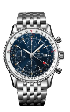 Breitling Navitimer Chronograph GMT 46/ A24322121C2A1
