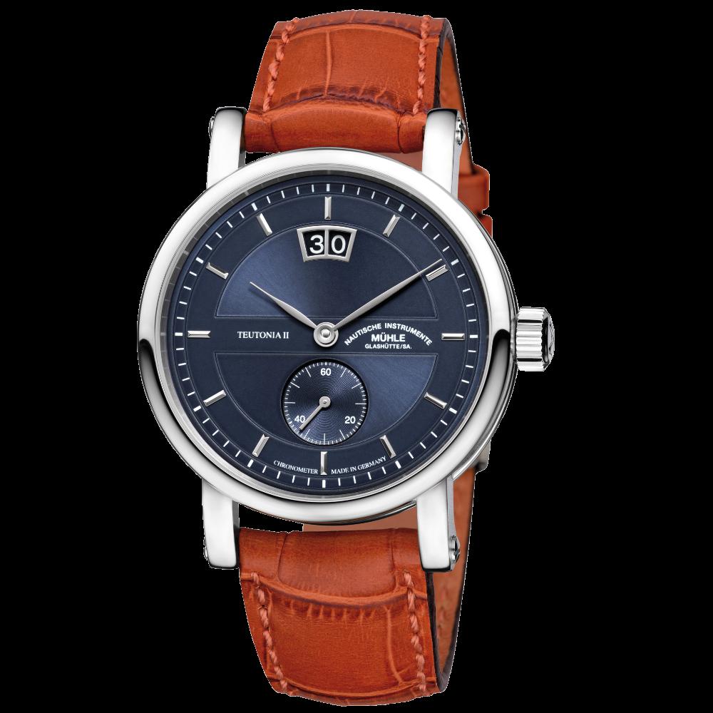 Mühle Glashütte Teutonia II Großdatum Chronometer / M1-33-76-LB