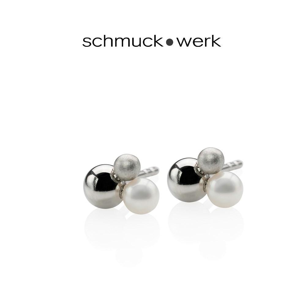 schmuck•werk Drilling Ohrstecker - WO311ST - Edelstahl