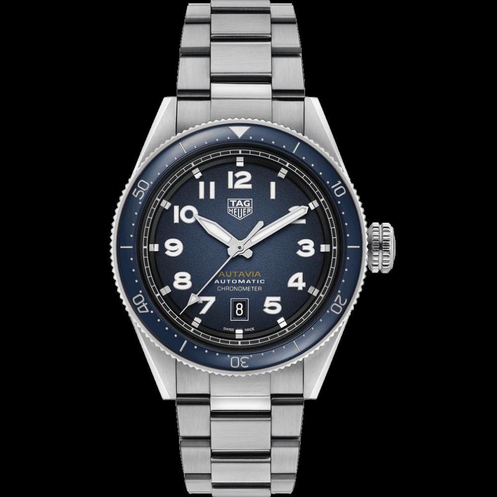 TAG Heuer Autavia Calibre 5 Chronometer 42mm WBE5116.EB0173