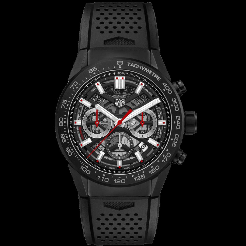 TAG Heuer Carrera Chronograph Calibre Heuer 02 CBG2A90.FT6173