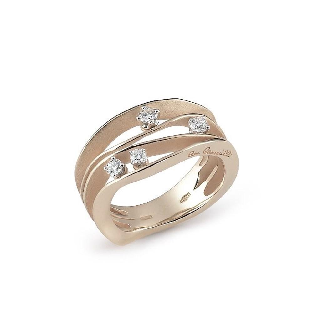 Annamaria Cammilli Essential DUNE Ring - GAN0778N - Natural Beige Gold 750/-