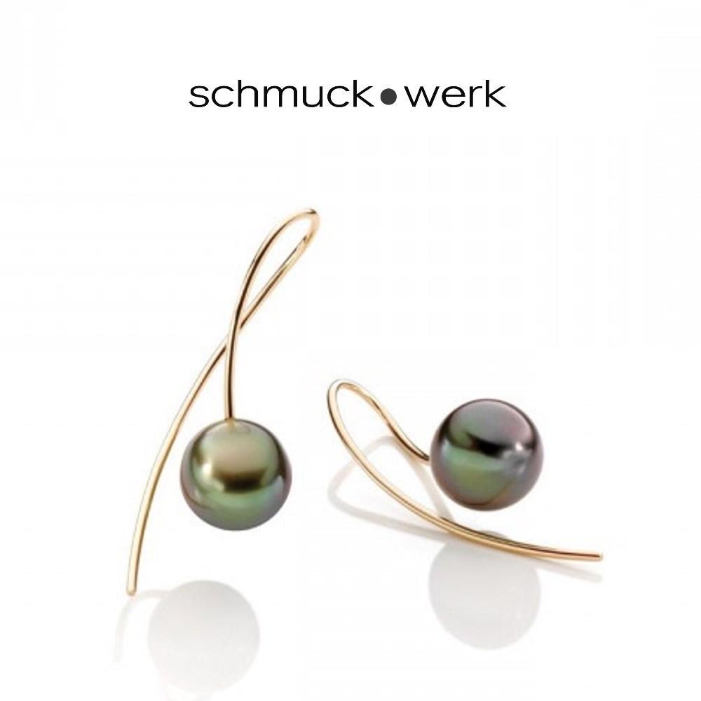 schmuck•werk Kugel Ohrhänger - KO701RGT - Rotgold