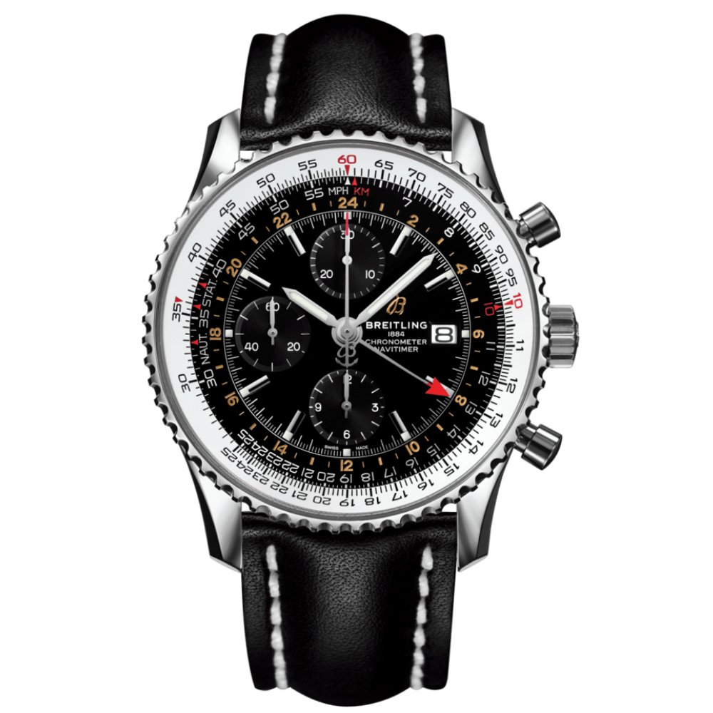 Breitling Navitimer Chronograph GMT 46 / A24322121B2X1