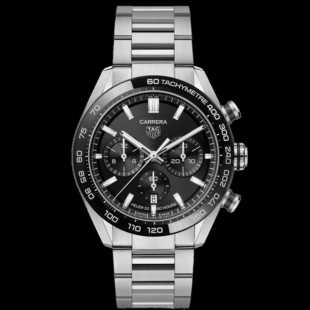 TAG Heuer Carrera Chronograph 44 Calibre Heuer 02 CBN2A1B.BA0643