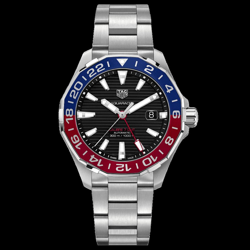 TAG Heuer Aquaracer 300M Calibre 7 GMT WAY201F.BA0927
