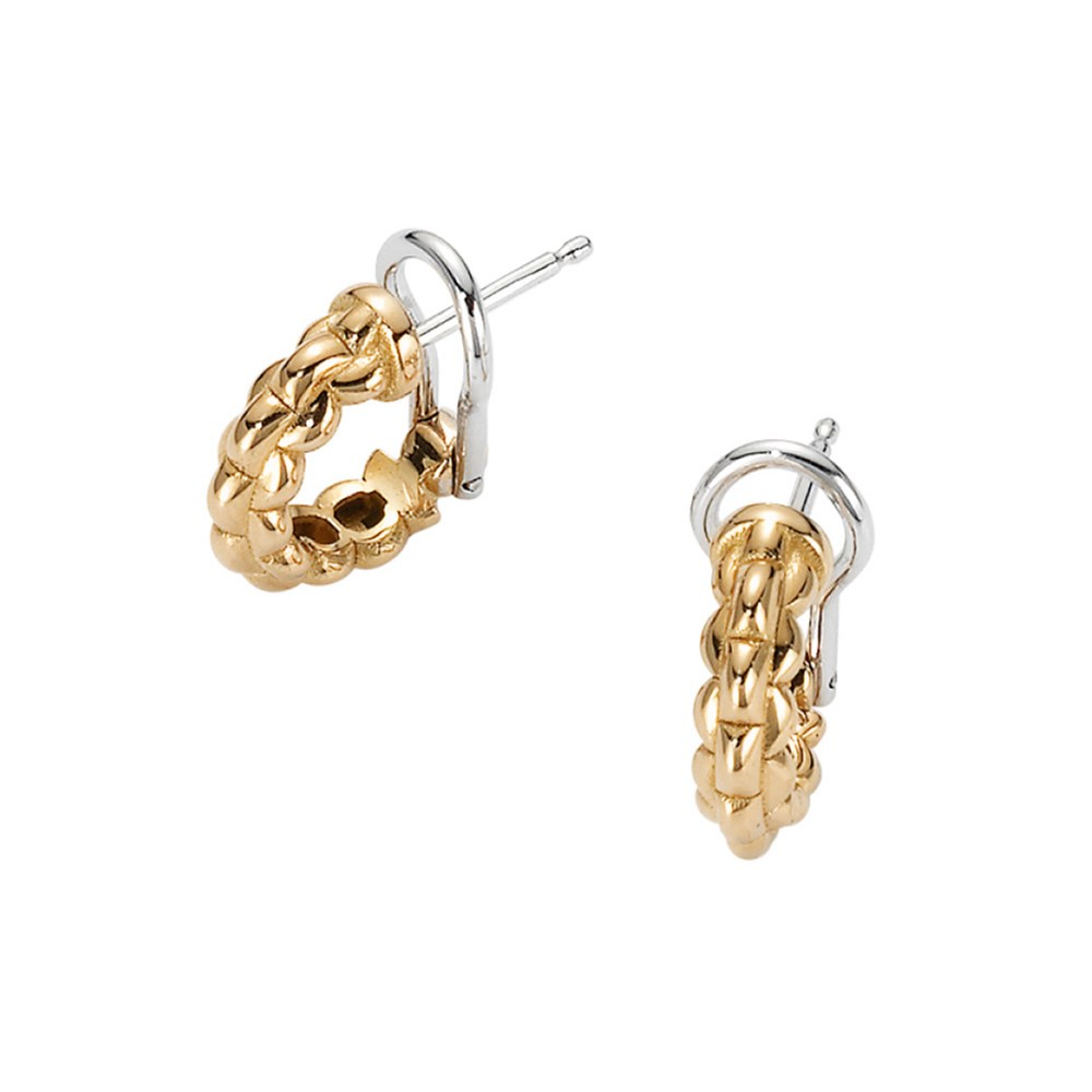 Fope Creolen - EKA TINY Collection - OR730 gelb - Gelbgold 750/-