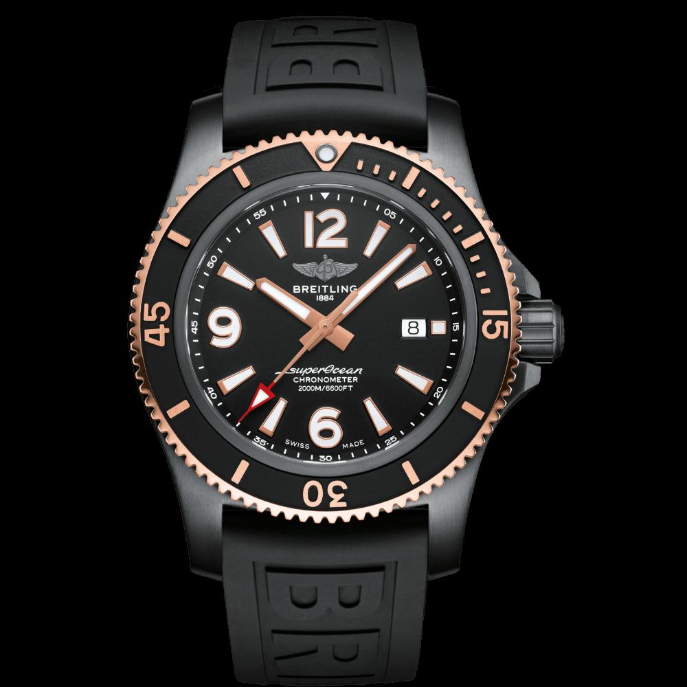Breitling Superocean Automatic 46 Blacksteel / U17368221B1S1