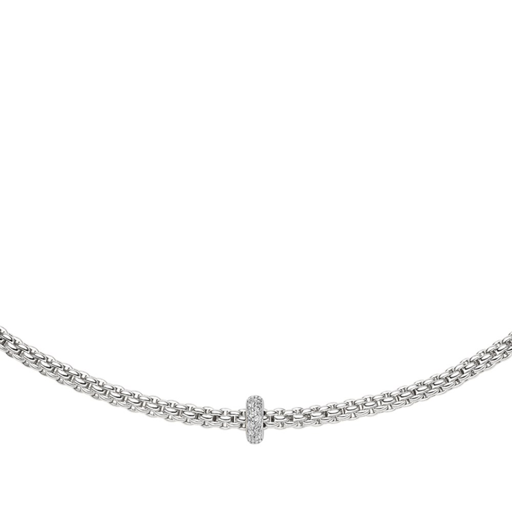 Fope Collier - PRIMA Collection - 745C BBR B - Weissgold 750/-