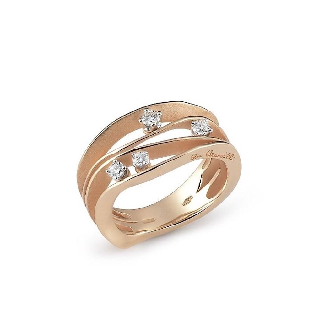 Annamaria Cammilli Essential DUNE Ring - GAN0778J - Aprico Orange Gold 750/-