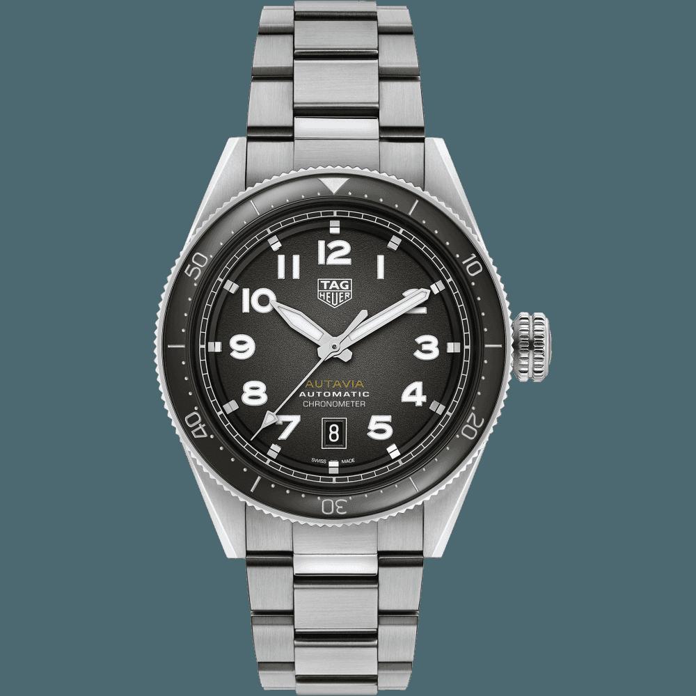 TAG Heuer Autavia Calibre 5 Chronometer 42mm WBE5114.EB0173