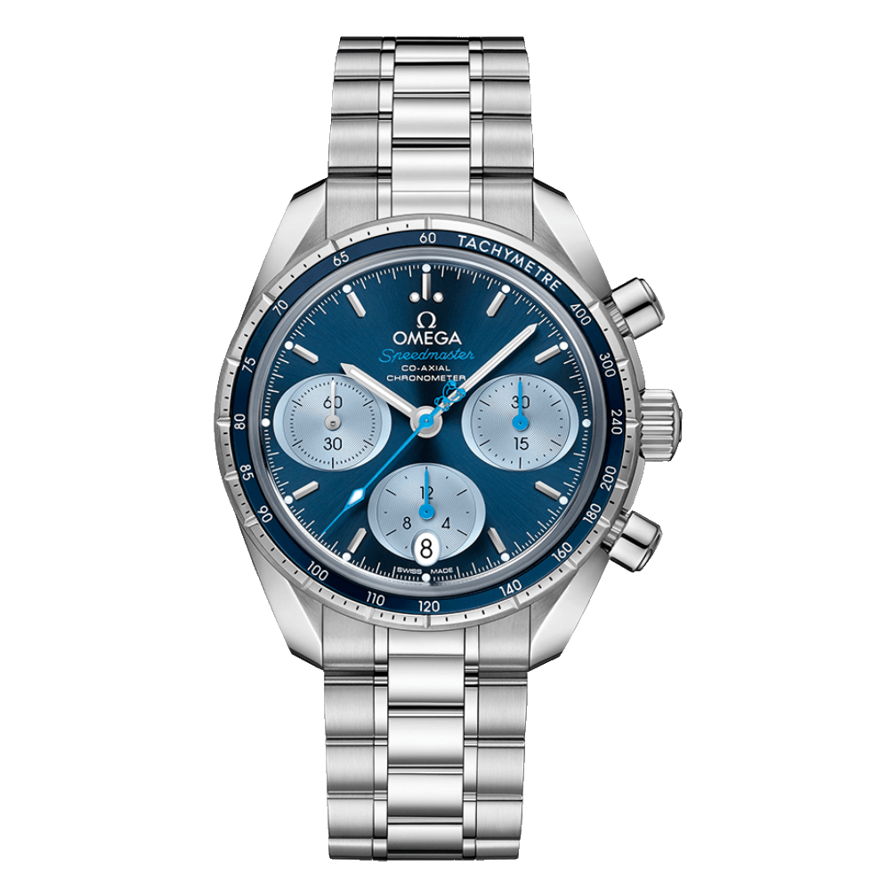 OMEGA Speedmaster 38 Co-Axial Chronograph 38mm ORBIS 324.30.38.50.03.002