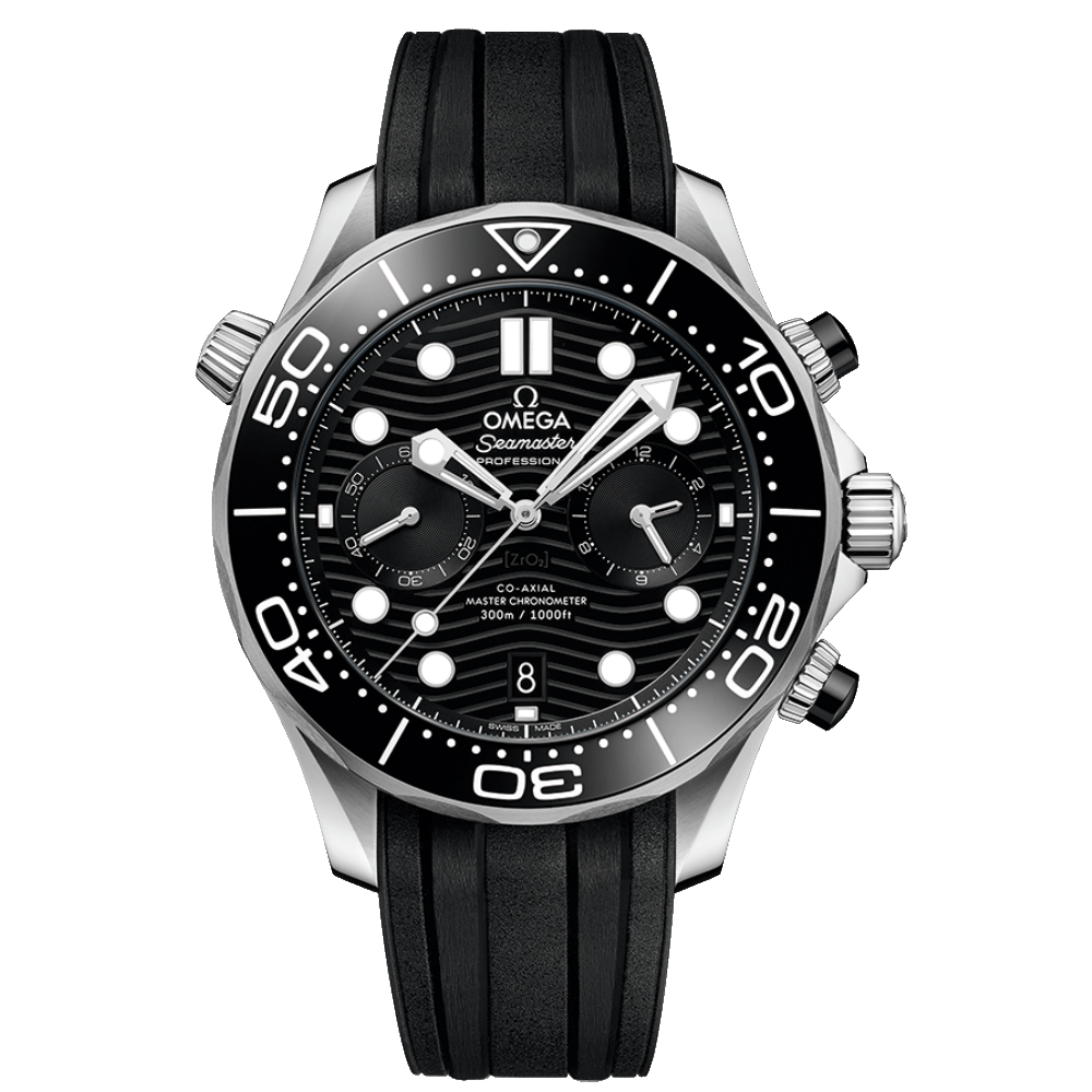 OMEGA Seamaster Diver 300M Co-Axial Master Chronometer Chronograph 44mm 210.32.44.51.01.001