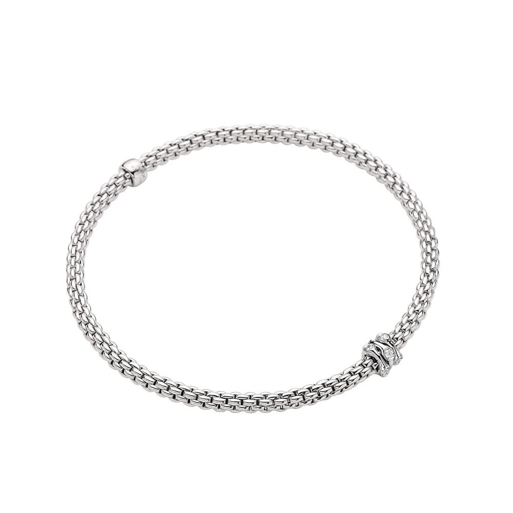 Fope Flex'it Armband - PRIMA Collection - 743B BBR B - Weißgold 750/- Länge M