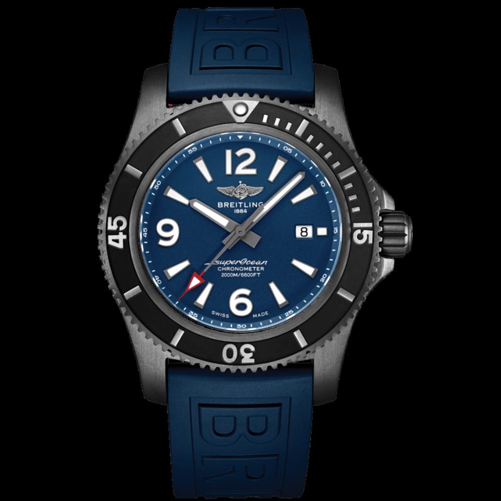Breitling Superocean Automatic 46 Blacksteel / M17368D71C1S1