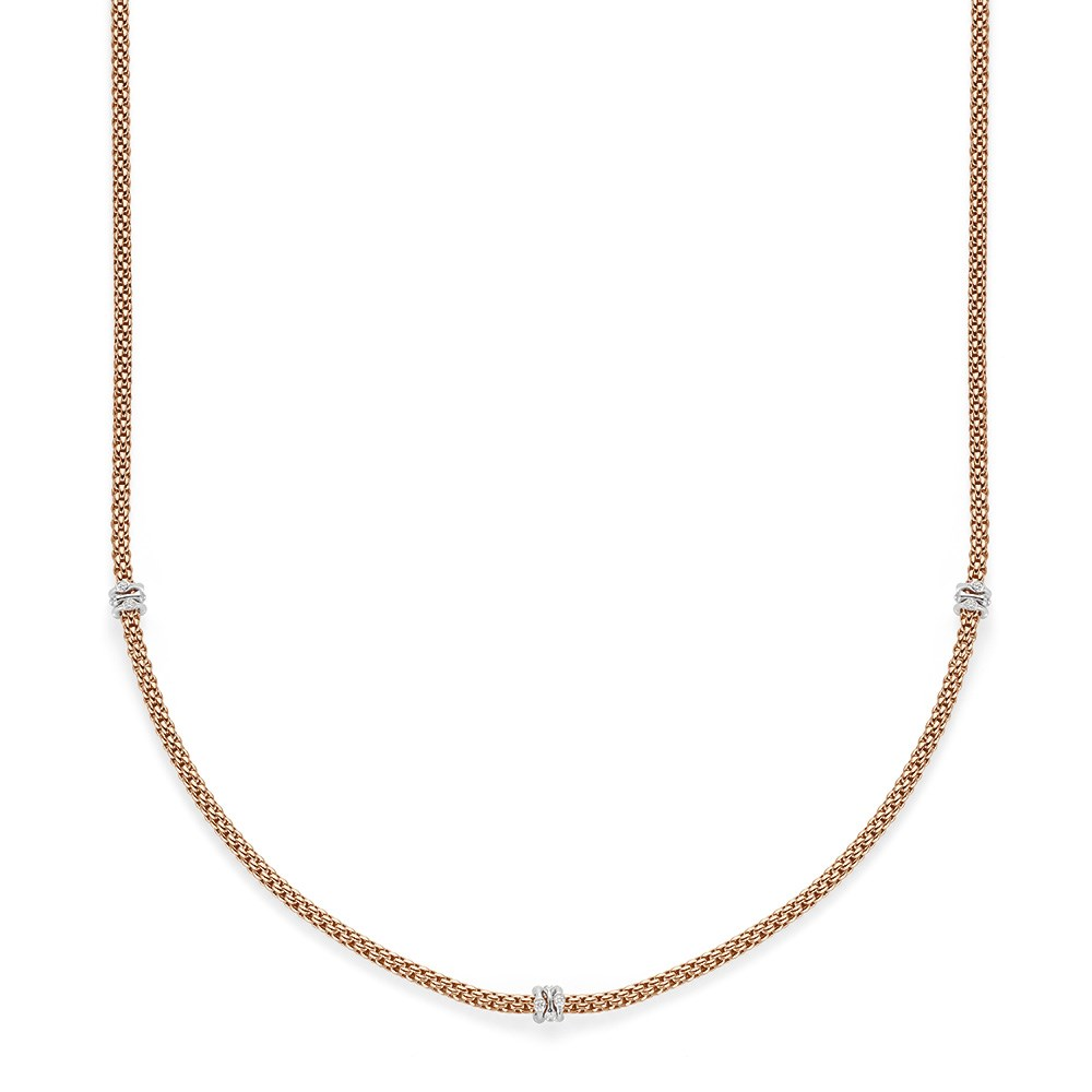 Fope Collier - PRIMA Collection - 741C BBR 70 BR - Roségold 750/-